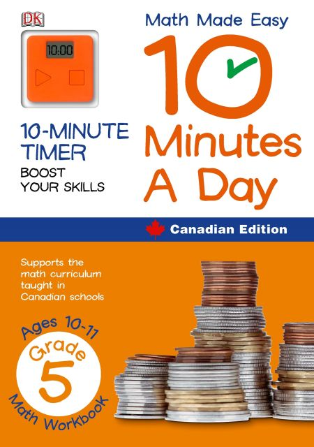 Math Made Easy 10 Minutes A Day Grade 5