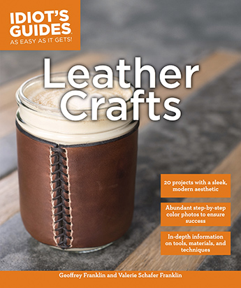 Idiot's Guides Leather Crafts