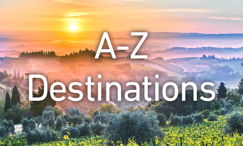 Organising your shelves: A to Z by destination
