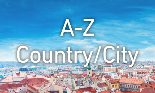 Organising your shelves: A to Z by country then A to Z by cities/regions within the country
