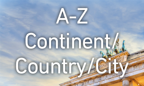 Organising your shelves: A to Z by continent,then country and city/region