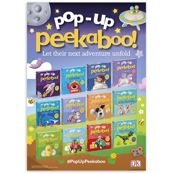 POS: Pop-Up Peekaboo A3 poster