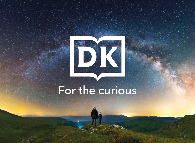 starry sky image with dk logo