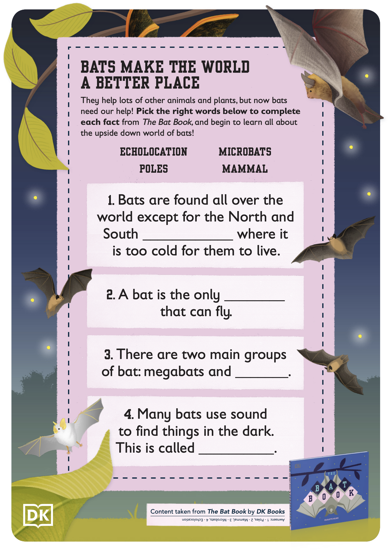 Brilliant Book Of Bugs Activity Pack - Black & White