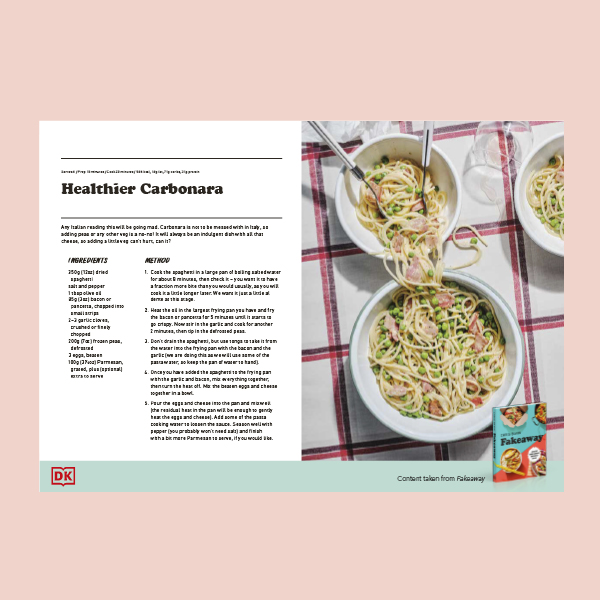 Healthy Carbonara Recipe PDF