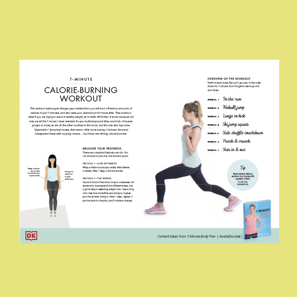 7-minute Calorie Burning Workout