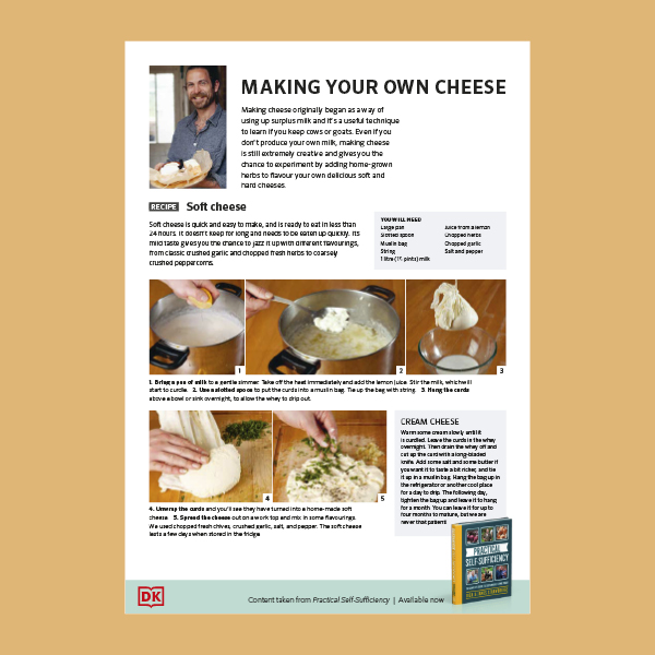 How to Make Soft Cheese at Home pdf