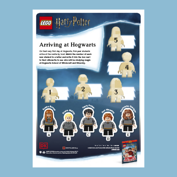LEGO Harry Potter activity pack pdf