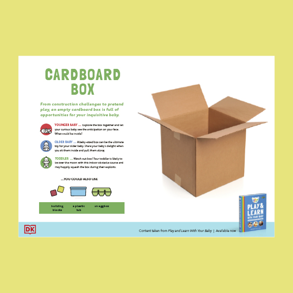 Play With Your Baby - Cardboard Box
