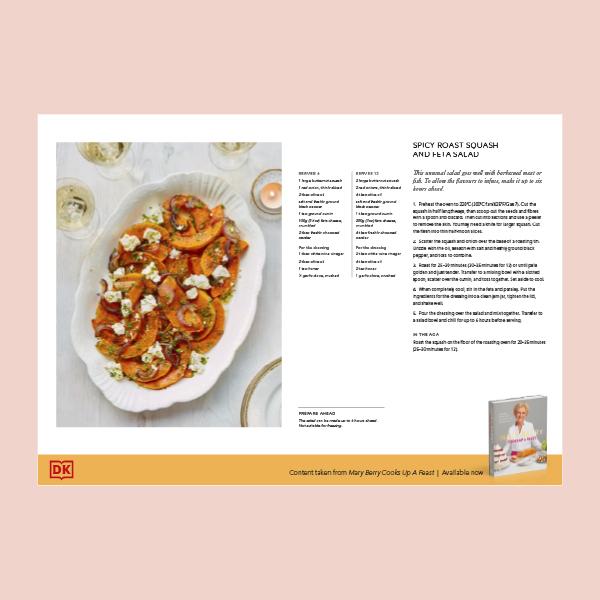 Mary Berry's Squash and Feta Salad pdf