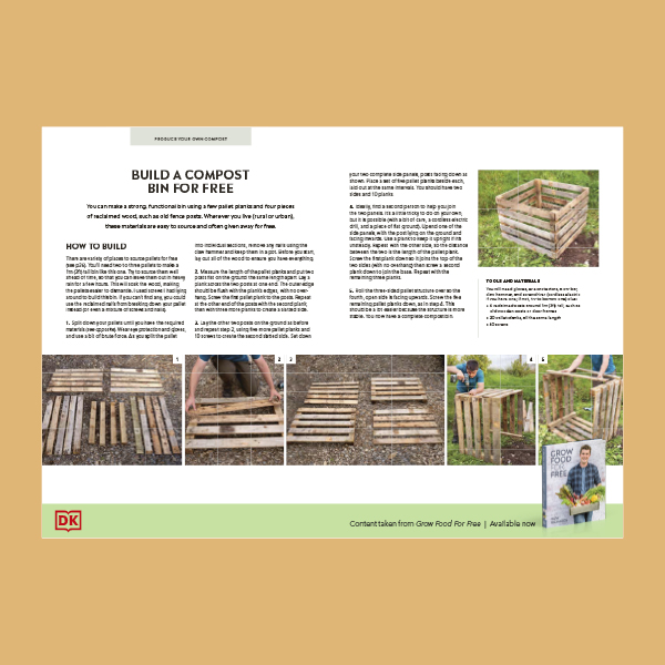 How to Make a Compost Bin pdf