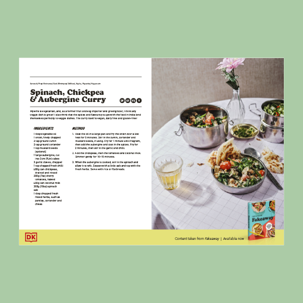 Spinach curry Recipe PDF
