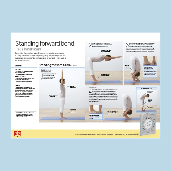 Exercise Yoga Standing Forward Bend pdf