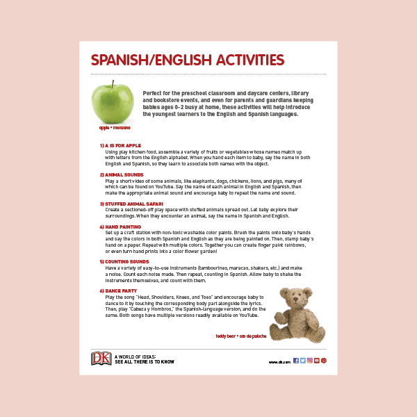Activity Sheet: Bilingual Board Books