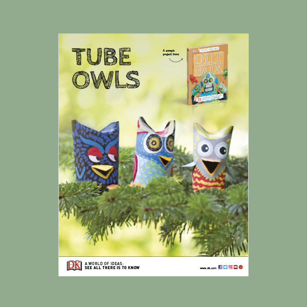 Activity Sheet: Cardboard Owls pdf