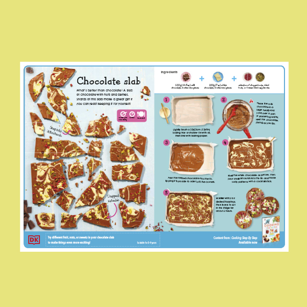 Chocolate Slab Recipe Sheet