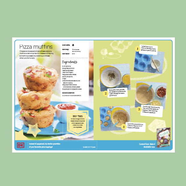 Pizza Muffins Recipe for Kids pdf