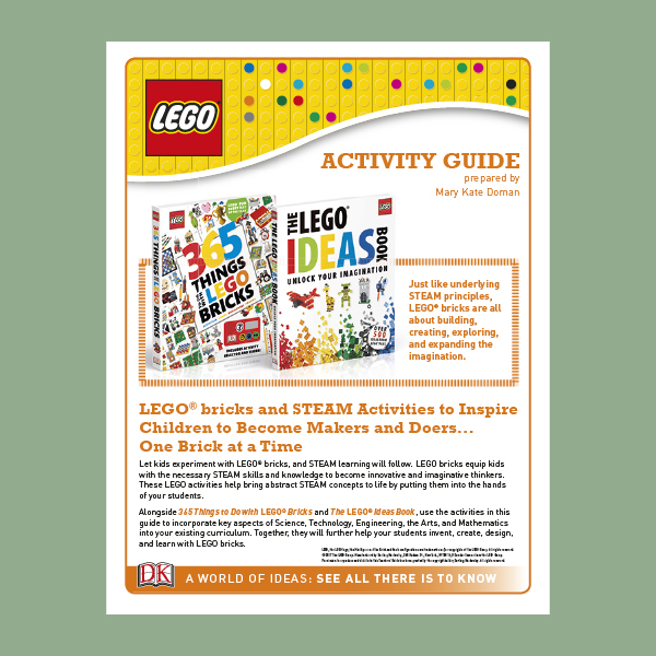 Teacher's Guide: LEGO STEAM activity guide pdf