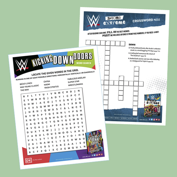 Activity Pack: WWE Puzzles pdf