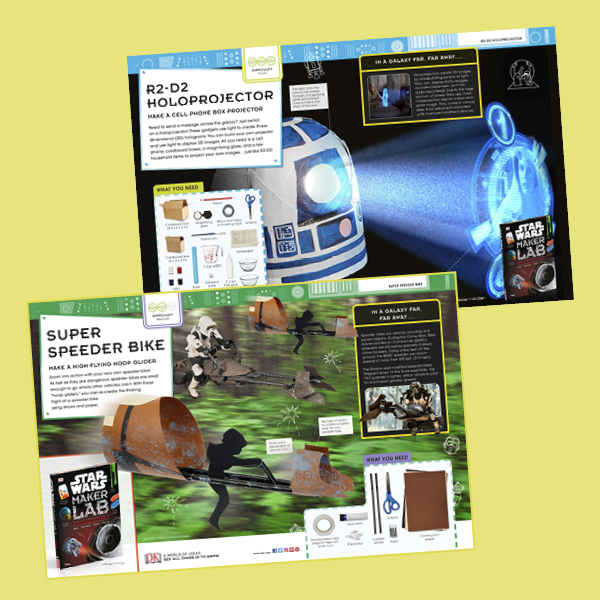 Activity Pack: Star Wars Maker Lab projects