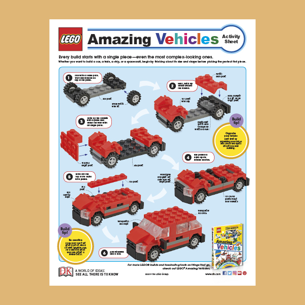 Activity Pack: LEGO Amazing Vehicles pdf