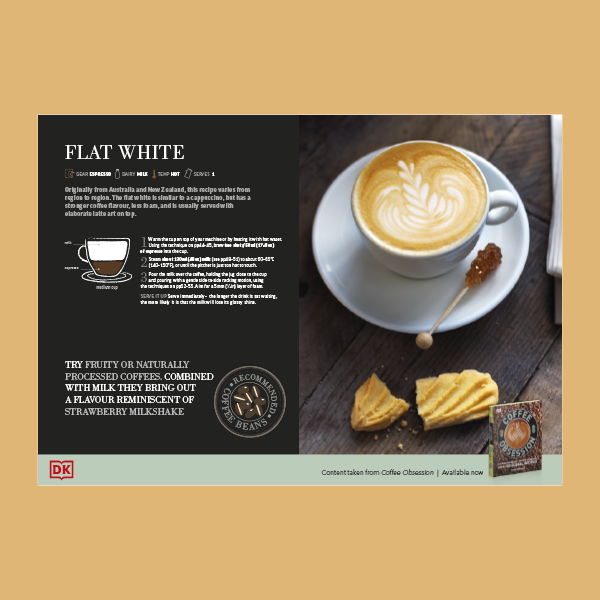Make a Flat White in your Kitchen pdf from the book Coffee Obsession