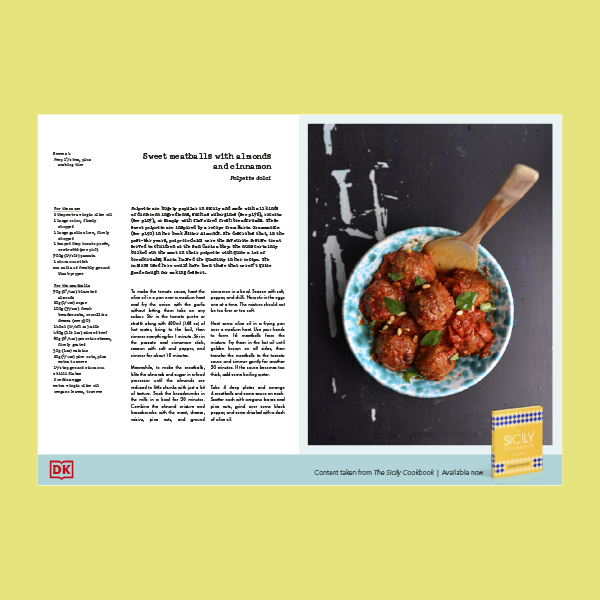 Polpette Dolci Recipe from Sicily