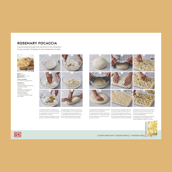 Homemade Focaccia Recipes pdf