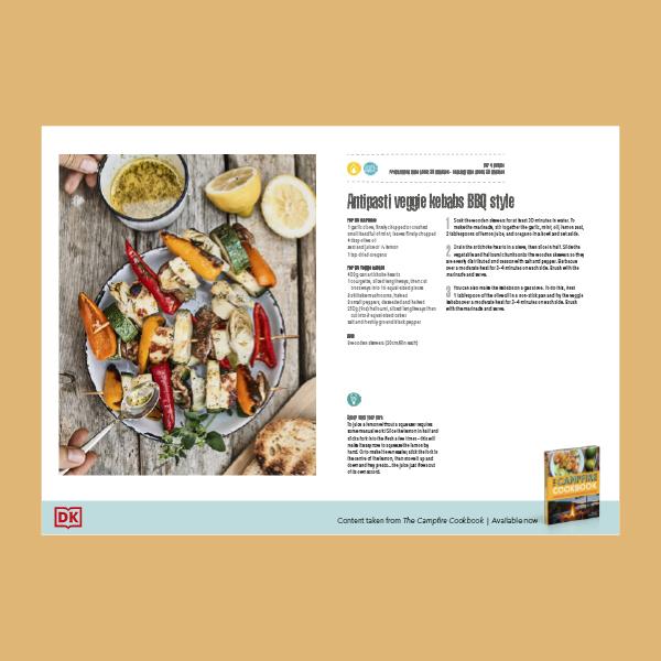 Antipasti Veggie Kebabs BBQ Style Recipe pdf