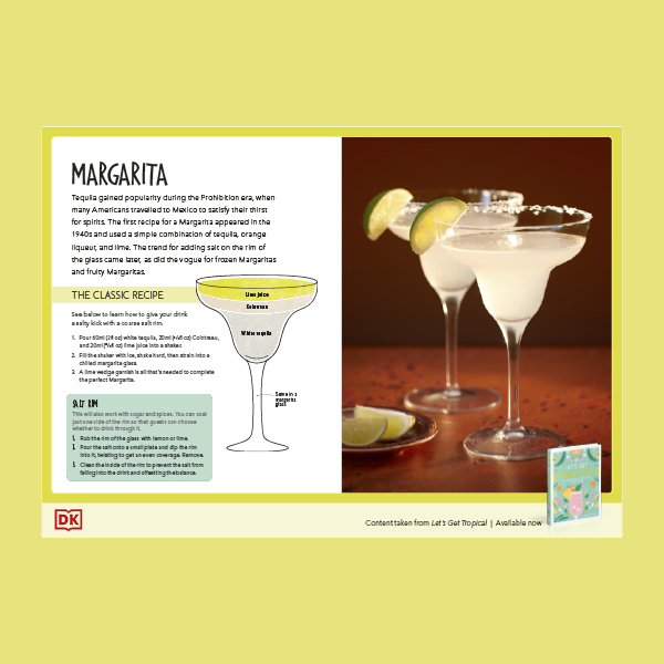 Margarita recipe for Father's Day