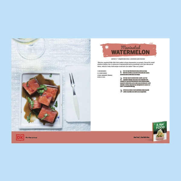Marinated Watermelon Recipe pdf