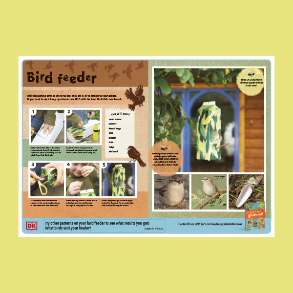 Build a recycled bird feeder! pdf