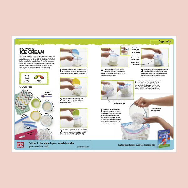 Make your own ice cream! pdf