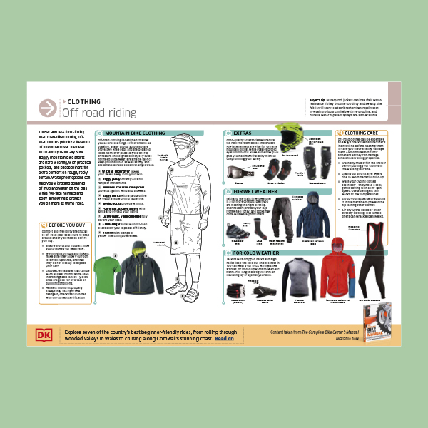 Clothing for off-road cycling pdf