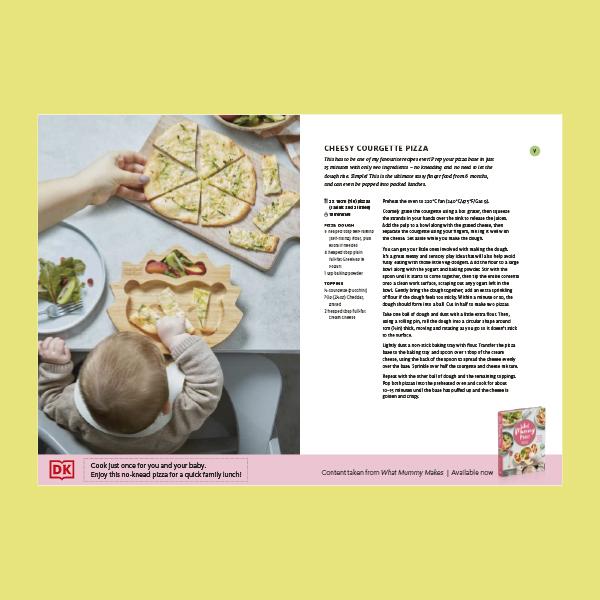 Cheesy Courgette Pizza pdf
