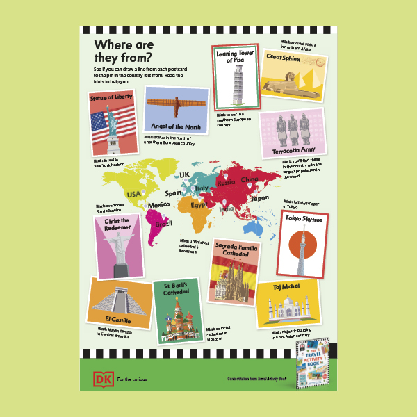 Travel Activity Book Pack pdf