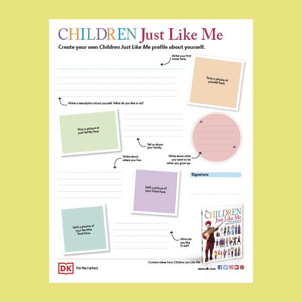 Children Just Like Me Activity Pack pdf