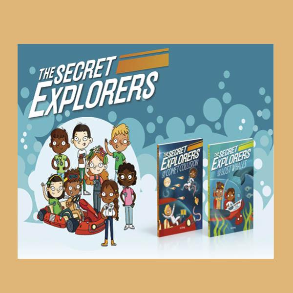 Secret Explorers Educational Activity PackActivity Pack pdf