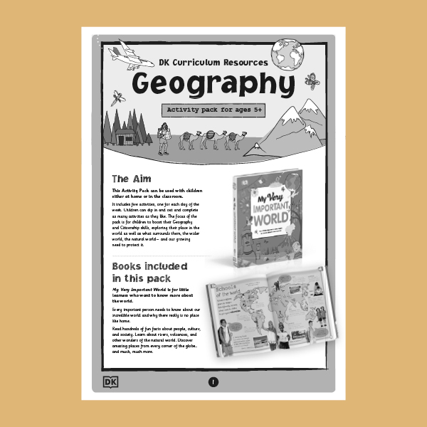 Geography - My Very Important World pdf