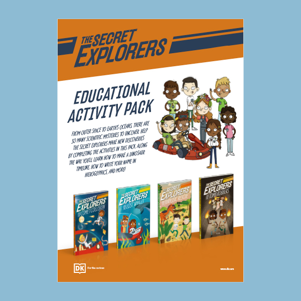 Join The Secret Explorers on a STEAM adventure! pdf