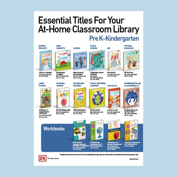 At-Home Library Essentials: Pre-K - Kindergarten