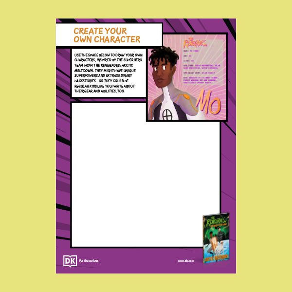 Create Your Own Graphic Novel Character pdf