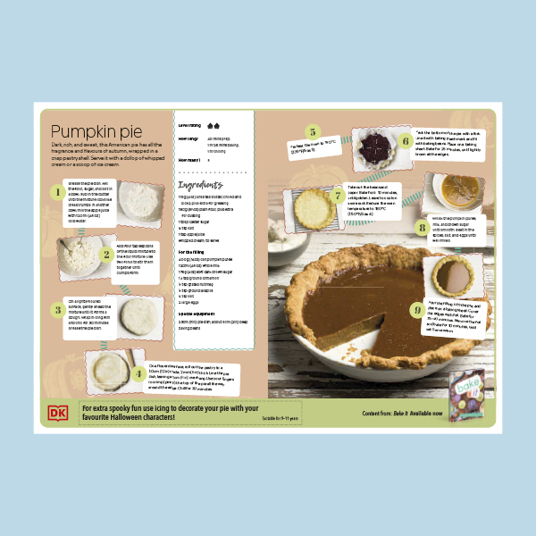 Pumpkin Pie Recipe pdf