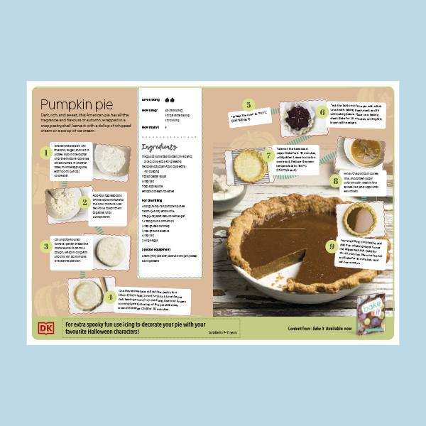 Pumpkin Pie Recipe pdf