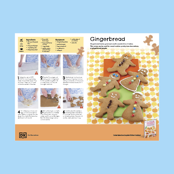Gingerbread Cookie Recipe pdf