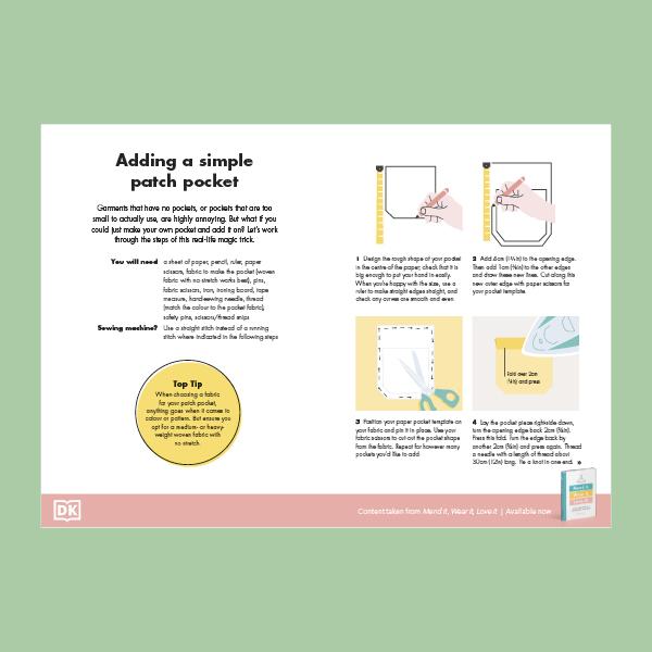 Add a patch pocket pdf