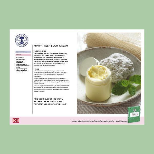 How to Make Minty Fresh Foot Cream pdf