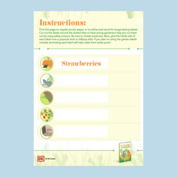 Create Your Own Garden Labels pdf
