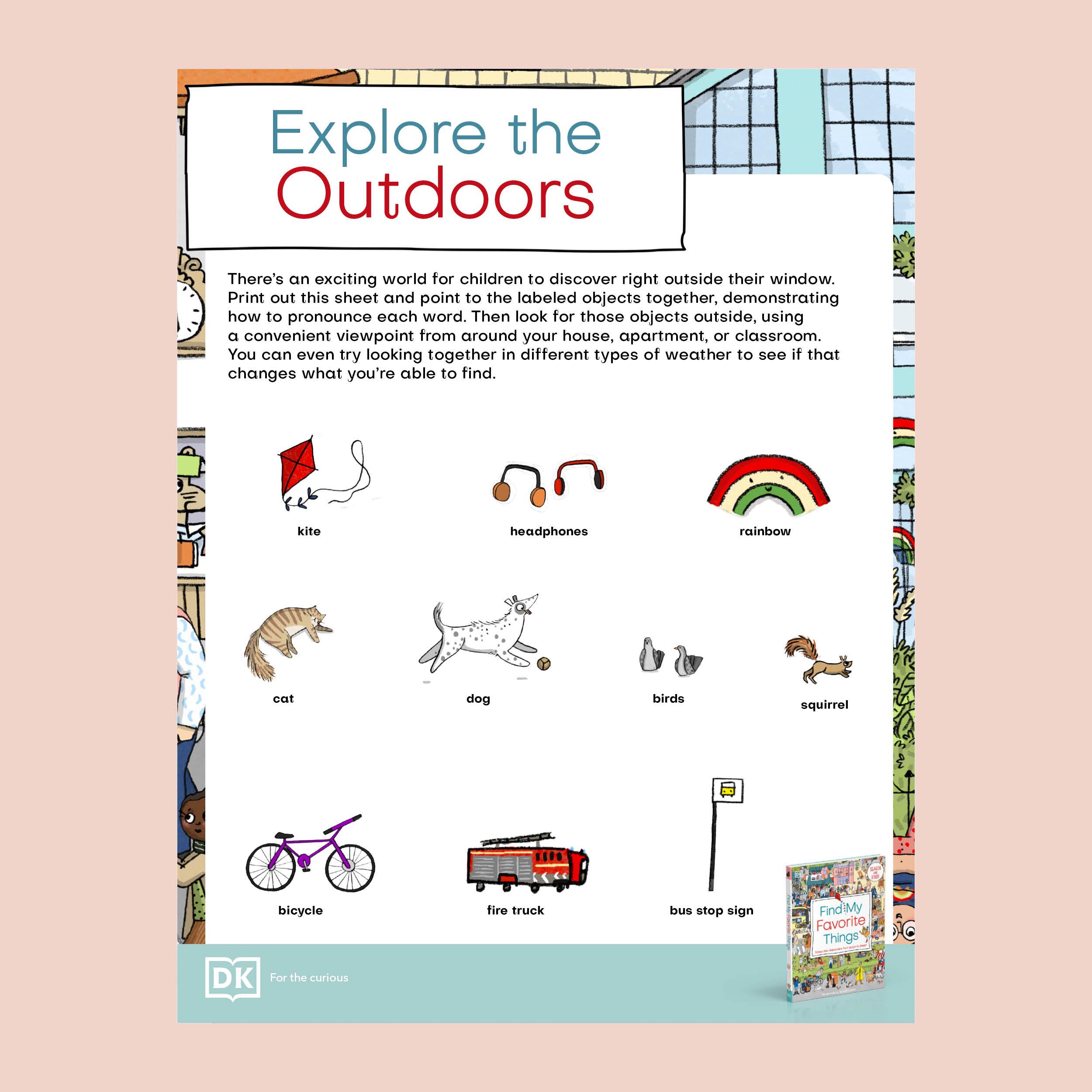 Find My Favorite Things Explore Pack pdf