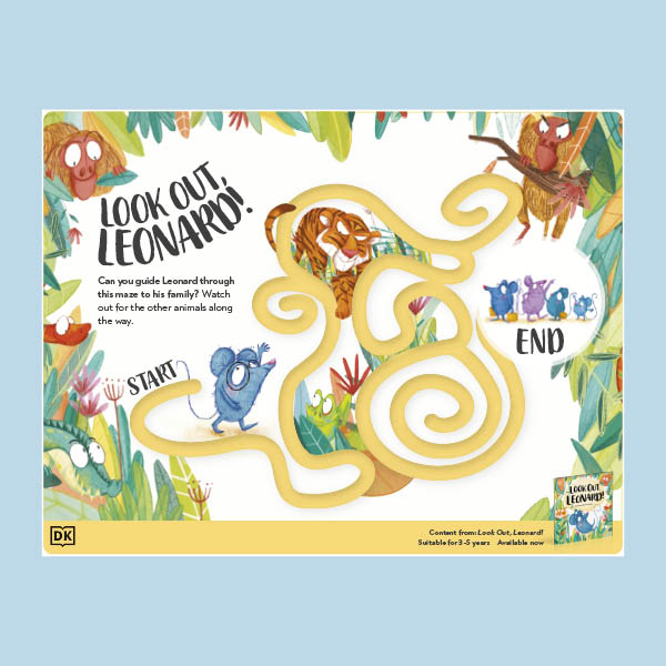 Look Out, Leonard! Activity Pack